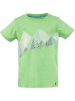 Stones & Bones t-shirt The climb green