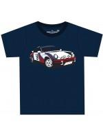 Stones & Bones t-shirt racer navy