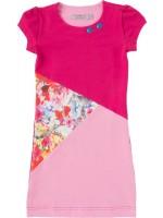 Waaaw jurk Kiki Fuchsia-print-roze s/s