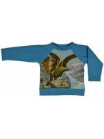 Sweater met adelaar van het Belgische merk Baba-Babywear. De trui is gemaakt van biologisch katoen.