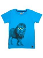 Stones & Bones t-shirt Allez Lion yellow