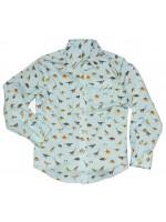 Stones & Bones blouse dino ice-blue