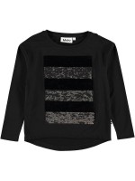 Molo longsleeve Rejoice Black (wrijfshirt)