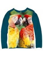 Stones & Bones longsleeve Parrots jeans