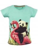 Stones & Bones t-shirt Family turquoise
