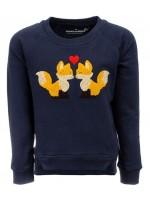 Stones & Bones sweater Foxes Kiss navy