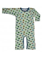 Baba-Babywear jumpsuit auto's wit