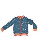 Baba-Babywear bomber jacket retro flowers