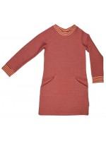 Baba-Babywear sweater dress red