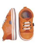 Melton mini slofjes oranje