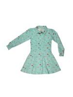 Baba-Babywear shirt dress swans