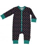 Baba-Babywear jumpsuit parrots