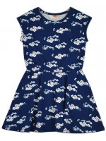 Baba-Babywear Smock dress Julia Blue