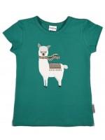 Baba-Babywear t-shirt Alpaca groen (baby)