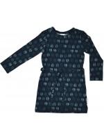 Baba-Babywear Sweater dress Feathers blue
