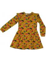 Baba-Babywear ruffle dress umbrella yellow