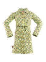 Hippe jurk met vrolijke print van het Nederlandse merk 4FunkyFlavours.   De jurk is gemaakt van 95% Cotton, 5% Elastane.