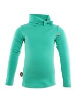 Hippe turquoise koltrui van het Nederlandse merk 4FunkyFlavours.   De koltrui is gemaakt van 95% Cotton, 5% Elastane