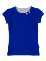 Waaaw t-shirt s/s Kobalt