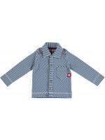 Blauw/wit gestreepte blouse van het merk Kik-Kid.