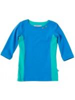 Waaaw shirt 3/4 mouw blauw/groen