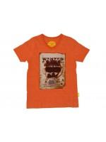 Stones & Bones t-shirt Racoon pumpkin