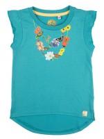Stones & Bones t-shirt Necklace turquoise