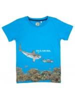 Stones & Bones t-shirt shark sky