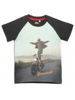 Stones & Bones t-shirt Stuntman black