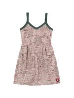 Kik-Kid dress singlet dots l. grey/red