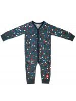 Kik-Kid jumpsuit multi dot d.grey