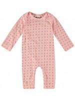Kik-Kid jumpsuit roze sterren