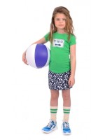 Br@nd for Girls t-shirt transfer Green To Beach