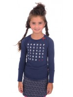 Br@nd for Girls t-shirt transfer Navy Letters