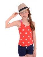 Br@nd for Girls summer top sweet Red dot