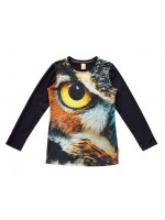 Wild longsleeve Army Owl Eye