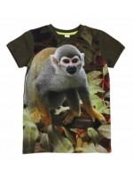 T-shirt met aap van het hippe Nederlandse merk Wild.  Het shirt is gemaakt van Oekotex gecertificeerd katoen.