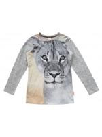 Wild Longsleeve Army Vintage Lion Grey