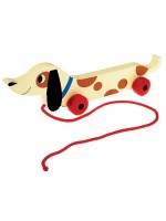 Rexinter pull toy Charlie de teckel