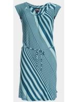 Ato Berlin jurk streep blauw
