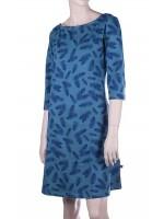 Froy & Dind jurk Toto ferns blue