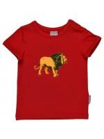 Baba-Babywear t-shirt leeuw rood