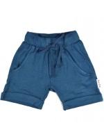 Baba-Babywear baggy short blue