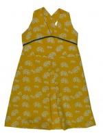 Baba Babywear summer dress gold
