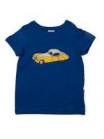 Baba-Babywear t-shirt jaguar donkerblauw