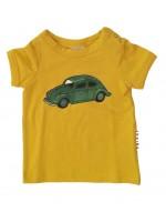 aba-Babywear t-shirt volkswagen okergeel