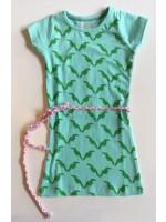 Birds by D-rak jurk all-over mint