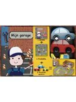 Mijn garage boek + speelbox