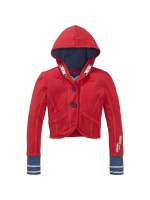 Chaos and Order jacket Robin red