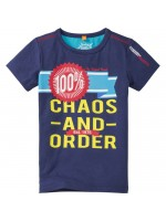 Chaos & Order t-shirt David navy